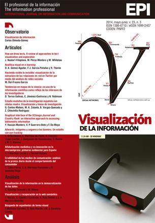 Ver Vol. 23 Núm. 3 (2014): Visualización de información