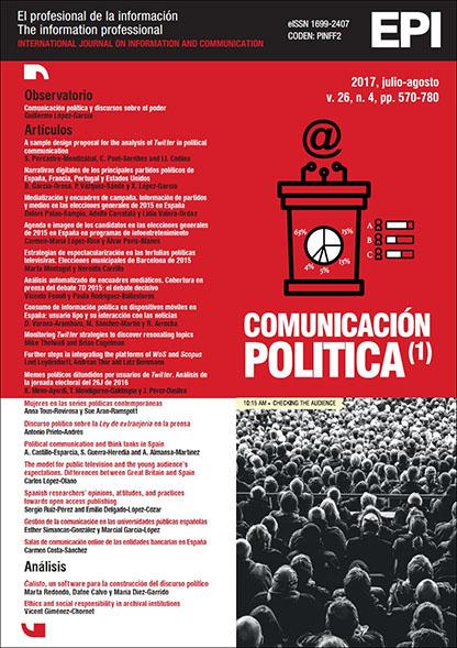 Ver Vol. 26 Núm. 4 (2017): Comunicación política I